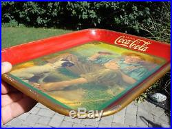 1931 Coca-Cola Tray Norman Rockwell Artwork Great Condition