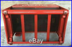 1939 Coca Cola Salesman Sample Cooler with Closed Front Panel & 2 Booklets