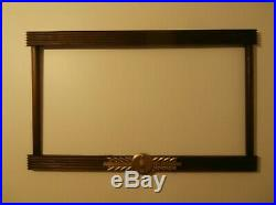 1940's Wooden Coca Cola Frame for Litho Signs