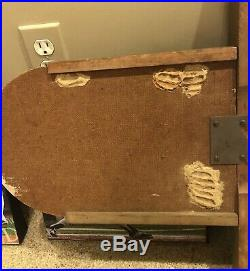1957 Coca Cola Cardboard In Deluxe Curved Kay Frame And Sprite Boy Wings