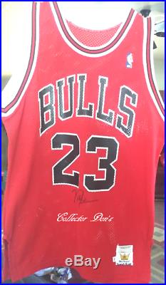 1 of a Kind Michael Jordan Signed Jersey Grand Prize 1990 Coca-Cola Contest