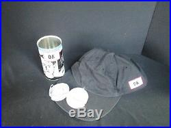 1x RARE OK Cola Hat Prize WINNER Can with Cap Promo Item Opened with Original Pcs