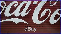 50's Coca-Cola Waterfall Countertop Advertising Coke Sign Motion Light-Up Works