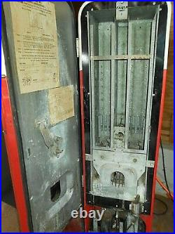 Antique 1950 Authentic Small Coca-cola Vending Machine #6528 Vmc-44 Pick Up Only