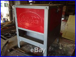 Antique Glascock Coca Cola Cooler