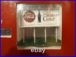 COCA COLA / COKE 1/87 SCALE COLLECTIBLE TRAIN SET Extremely RARE Great Condition