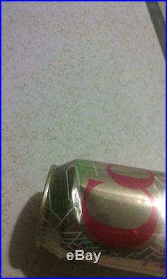 COCA COLA factory error unopened empty can with some dents Diet Caffeine Free