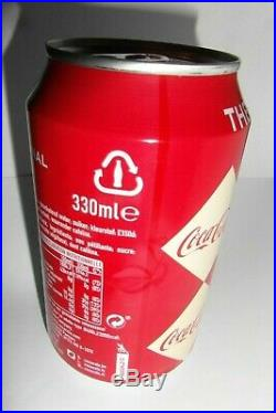 Coca Cola 12 Oz rare factory error (Christmas edition) Sealed and empty Coll