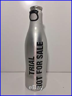Coca Cola Aluminium Bottle TRIAL NOT FOR SALE very rare France 2011