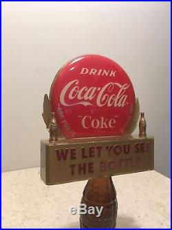Coca Cola Bottle Topper Display