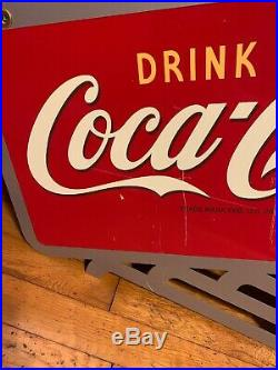 Coca Cola Flange Advertising Sign