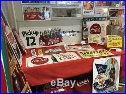 Coca-Cola Ice Cold 54 x 18 SST Sign NOS