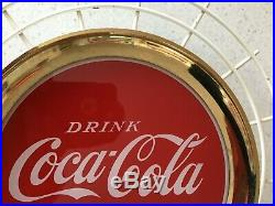 Coca Cola Light Up Sign 1965 Sign Of Good Taste Excellent Condition