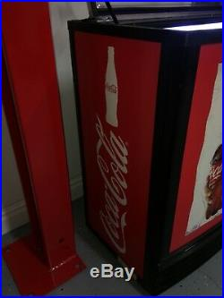 Coca-Cola Refrigerated Chest Refrigerator Barely Used OFFERS ENCOURAGED