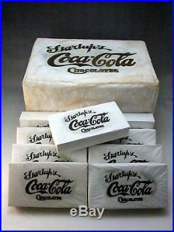 Coca Cola Startup's Chocolates Boxes (9) in Original Shipping Box Extremely Rare