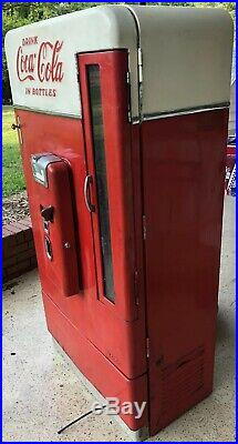Coca Cola Vendo 110 Vintage Coke Machine Ice Cold, Fully Functional, Works Gr8