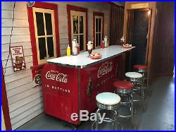 Coca Cola Victor Counter Machine Cooler