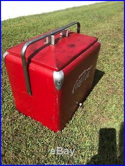 Coca Cola Vintage cooler / ice chest Used but Nice