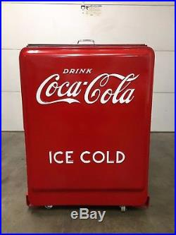 Coca cola cooler Master Chest 1940's westinghouse machine Restored refurbished