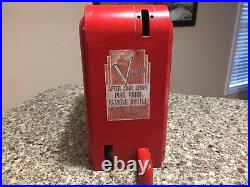 Coke machine vendo rare changer coin mechanism Cover Coca Cola Vending Cooler