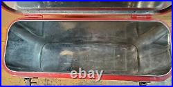 DESIRABLE AIRLINE ORIGINAL 1940's-50's COCA COLA AIRLINE 6 PACK COOLER GAS OIL