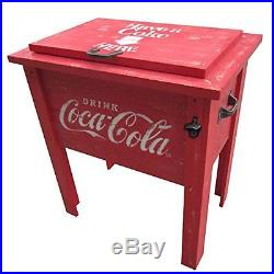 Leigh Country CP 98100 Coca Cola Vintage Cooler 54-Quart Red