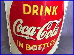 Old Drink Coca-Cola in Bottles General Grocery Store Advertising String Holder