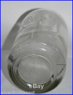 Original Scarce Panama City Coca-Cola Seltzer Bottle Complete Etched