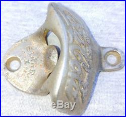 Prior To 1914 Antique Brown Co Starr X Drink Coca Cola Bottle Opener Made In USA
