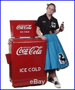 RETRO 1930s 1932 COCA COLA RED REFRIGERATOR ELECTRIC COKE MACHINE COOLER NEW