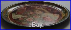 Rare And Beautiful It's The 1901 Coca Cola Advertising Tray, Not Tip, Near Mint