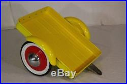 Retro Childs Size Coca Cola Pedal Car With Trailer And Cooler By Gearbox. 2001
