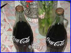 Two Bottles Of Coke Cola The Real Thing