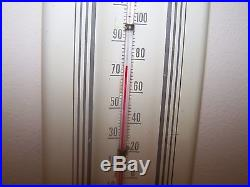 VINTAGE COLA-COLA Tin THERMOMETER IN BOTTLES BUTTON SIGN Soda Pop Ad Store Drink