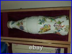 Very Rare, Exclusive & numbered Hand painted Coca-Cola porcelain bottle -Hungary