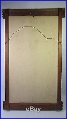 Vintage 1950's Coca-Cola McGuire Sisters Cardboard Advertising sign with Frame