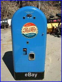 Vintage 1951 Jacobs 50 Pepsi Machine (SURVIVOR) not coke 7up Rc-cola vendo vmc