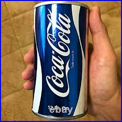 Vintage 1970's Coca Cola Not For Sale Blue Empty Can Test Model
