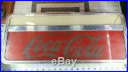 Vintage 40s 50s price bros counter top lighted coca cola coke sign