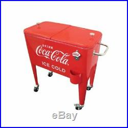 Vintage 60 Qt. Retro (Ice Cold) Coca-Cola Cool, summer must have