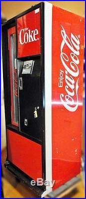 Vintage Cavalier Mfg. GENUINE Coca-Cola Can & Bottle Dispensing Vending Machine