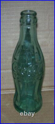 Vintage Coca Cola Blue Soda Bottle Dated Nov. 16, 1915 Coke Bottle