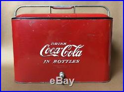Vintage Coca-Cola Cooler Pepsi 7-Up Dr. Pepper