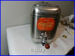 Vintage Outboard Coca-cola Soda Dispenser- Stainless Vintage Drive -in Theater