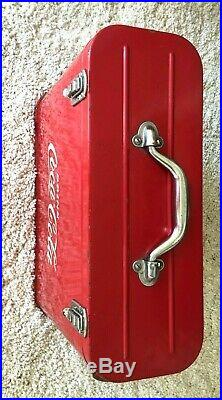 Vtg 1948 Coca-Cola Airline Cooler/Ice Chest Collectible-Original NO Restoration