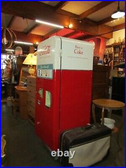 Vtg, Coca-Cola Glasco Paper Cup Pop Machine only made 3 years 1957-59